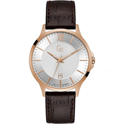 Gc Gc Executive Herenhorloge Bruin Y38003G1
