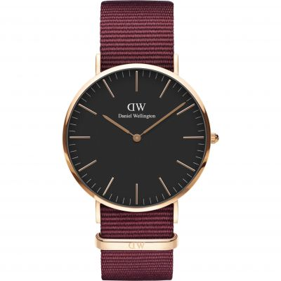 Daniel Wellington Classic Classic 40 Roselyn Unisexuhr in Rot DW00100269