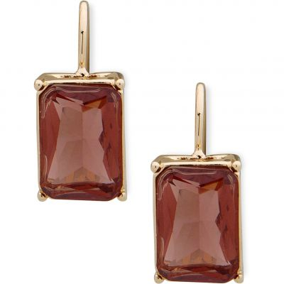 Anne Klein Dames Stone Drop Earrings Basismetaal 60505207-887