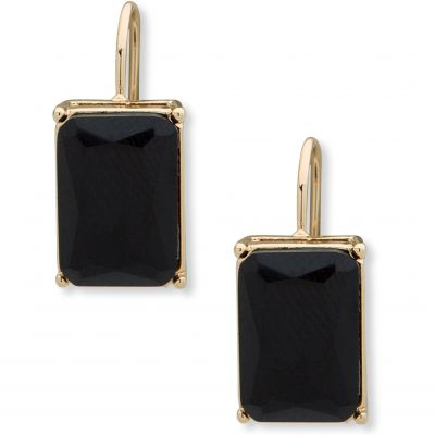 Anne Klein Dames Stone Drop Earrings Basismetaal 60505208-887