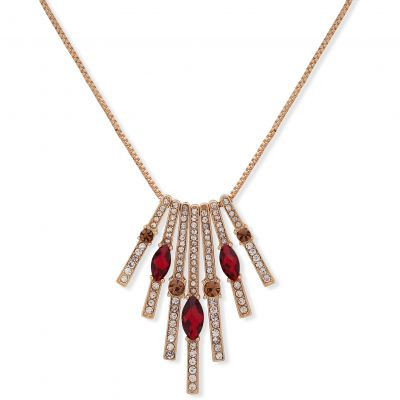 Long Stone Pendant Necklace 60505594-887