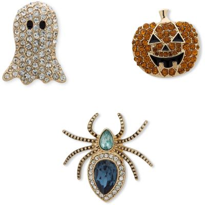 Anne Klein Dames Ghost Spider Trio Brooch Basismetaal 60506328-887