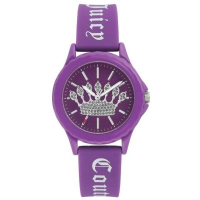 Juicy Couture Unisexuhr JC-1001PRPR