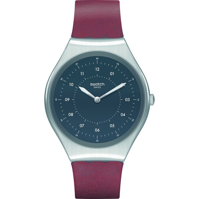 Swatch Skinbrushed Watch