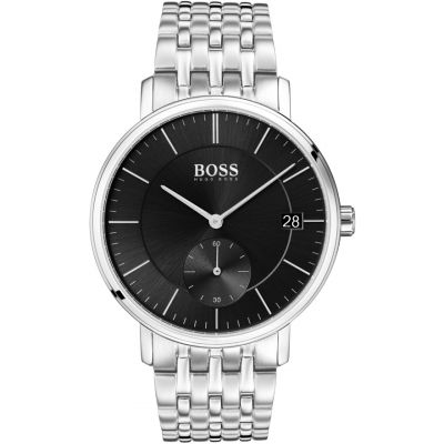 Hugo Boss Corporal Corporal Herrenuhr in Silber 1513641