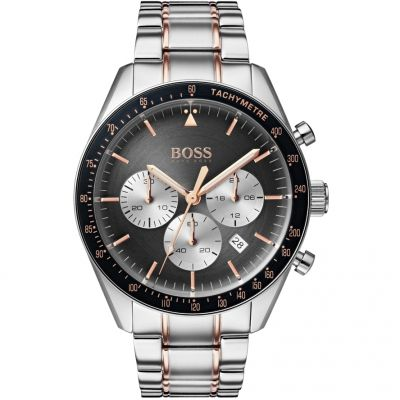 Hugo Boss Trophy Trophy Herrenuhr in Zweifarbig 1513634