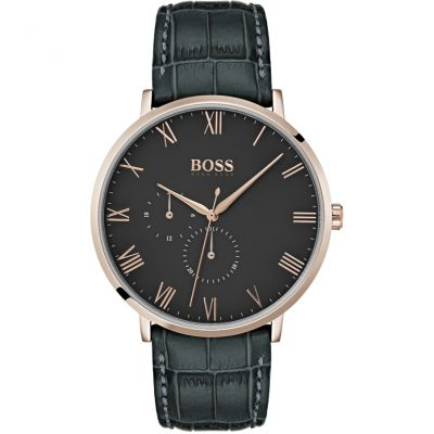 Hugo Boss William William Multifunction Herrenuhr in Grau 1513619