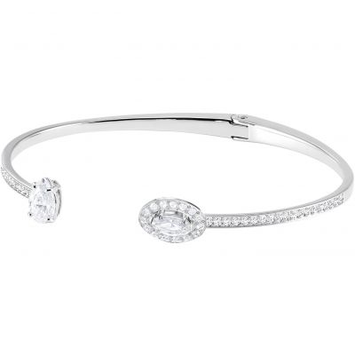Swarovski Dam Attract Bangle Size Medium Rodiumpläterad 5416190