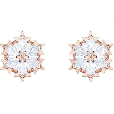 Swarovski Dam Magic Pierced Earrings Roséguldspläterad 5428429