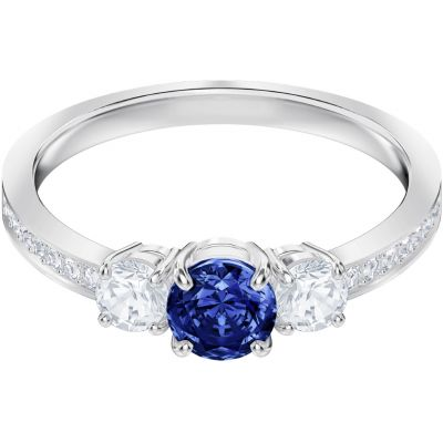 Damen Swarovski Attract Trilogy Ring Size P/Q rhodiniert 5448831