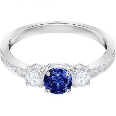 Swarovski Attract Trilogy Ring Size J.6