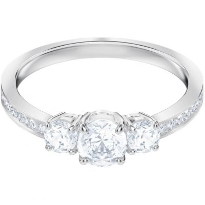 Swarovski Attract Trilogy Ring Size J.5