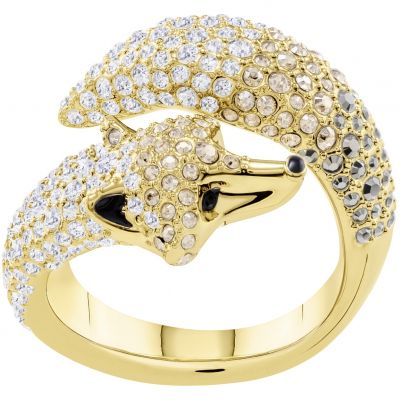 Swarovski March Fox Ring Size N