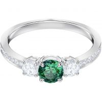 Swarovski Attract Trilogy Ring Size N