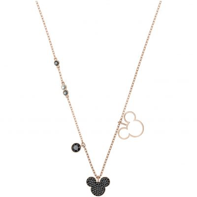Swarovski Mickey&Minnie Necklace