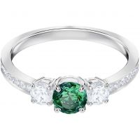 Swarovski Jewellery Attract Trilogy Ring Size P/Q
