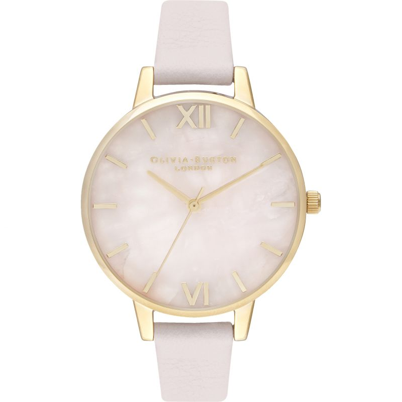 Demi Rose Quartz Blossom & Gold Watch