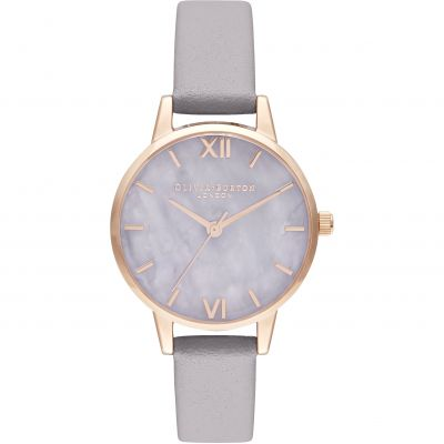 Midi Amethyst Lilac & Rose Gold Watch