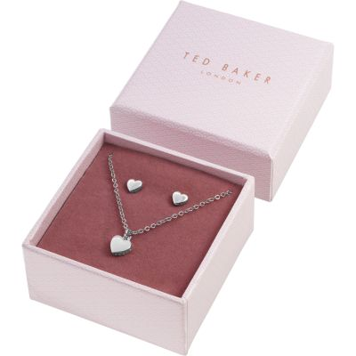 Ted Baker Silver Plated Sweetheart Gift Set TBJ1222-01-03