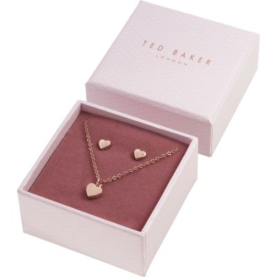 Ted Baker Rose Gold Plated Sweetheart Gift Set TBJ1222-24-03