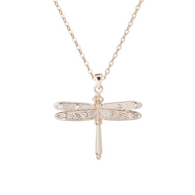 Ted Baker Gold Plated Delilaa Mini Dragonfly Necklace TBJ1973-30-02