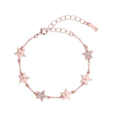 Ted Baker Rose Gold Plated Shaena Shooting Star Cluster Bracelet TBJ1987-24-02