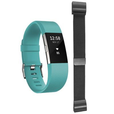 Charge 2 Teal Large with Free Additional Milanese Bracelet
