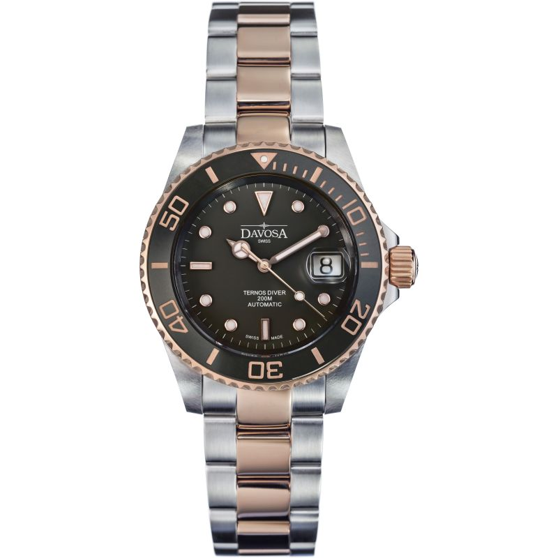 Mens Davosa Ternos Diver Bicolour Automatic Watch