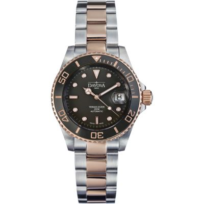 Mens Davosa Ternos Diver Bicolour Automatic Watch 16155565