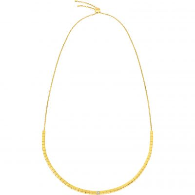 Ladies Calvin Klein Gold Plated Tune Necklace KJ9MJN140100