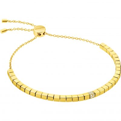 Ladies Calvin Klein Gold Plated Tune Bracelet KJ9MJB140100