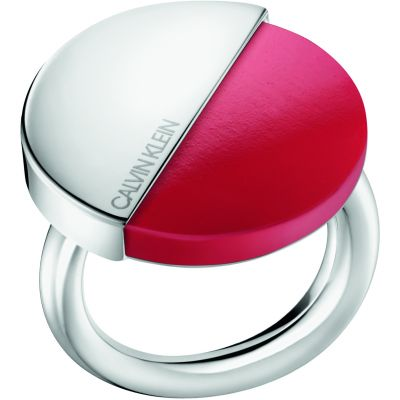 Ladies Calvin Klein Stainless Steel Spicy Ring Size L KJ8RRR040106