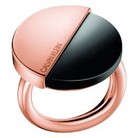 Ladies Calvin Klein Rose Gold Plated Spicy Ring Size L KJ8RBR140106