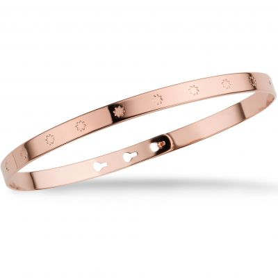 Ladies Mya Bay Rose Gold Plated Big Stars Bangle JC-31.P