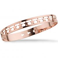 Ladies Mya Bay Rose Gold Plated 20 Stars Bangle JX-03.P