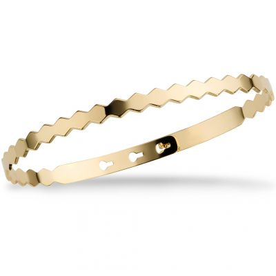 Ladies Mya Bay Gold Plated Confettis Bangle JC-64.G