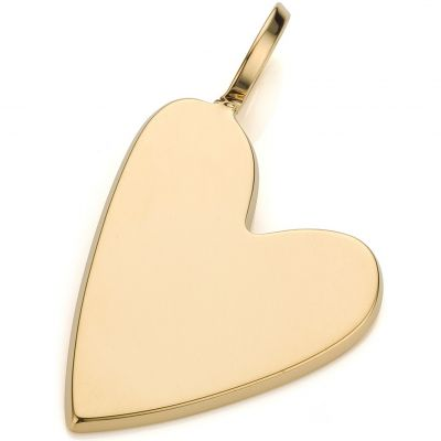 Ladies Mya Bay Gold Plated Big Heart Charm PED-03.G
