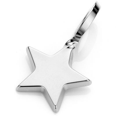 Ladies Mya Bay Silver Plated Small Star Charm PET-01.S