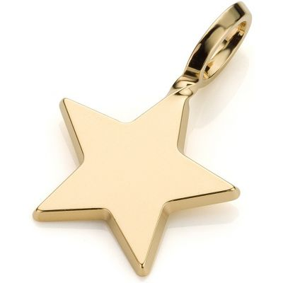 Ladies Mya Bay Gold Plated Big Star Charm PET-02.G