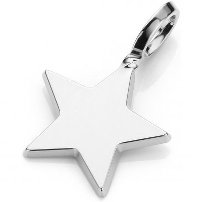 Ladies Mya Bay Silver Plated Big Star Charm PET-02.S