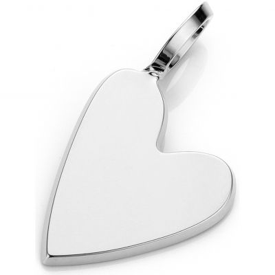 Ladies Mya Bay Silver Plated Little Heart Charm PED-02.S