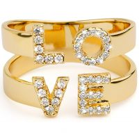 Damen Mya Bay Love Ring vergoldet BA-LO-01.G