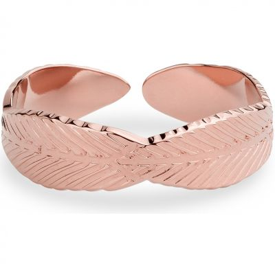 Ladies Mya Bay Rose Gold Plated Leaf Ring BA-FE-01.P