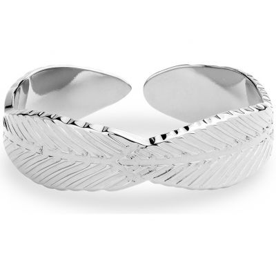 Ladies Mya Bay Silver Plated Leaf Ring BA-FE-01.S