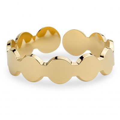 Ladies Mya Bay Gold Plated 11 Circles Ring BA-10.G