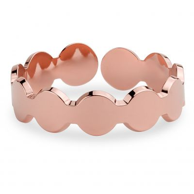 Ladies Mya Bay Rose Gold Plated 12 Circles Ring BA-10.P