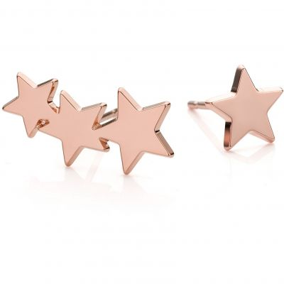 Ladies Mya Bay Rose Gold Plated Multiple Star Earrings BO-ET-01.P