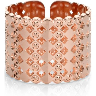 Damen Mya Bay Large Beaded Bubbles Ring rosévergoldet BA-64.P