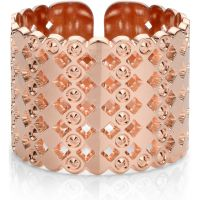Ladies Mya Bay Rose Gold Plated Large Beaded Bubbles Ring BA-64.P