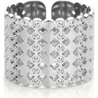 Ladies Mya Bay Silver Plated Large Beaded Bubbles Ring BA-64.S